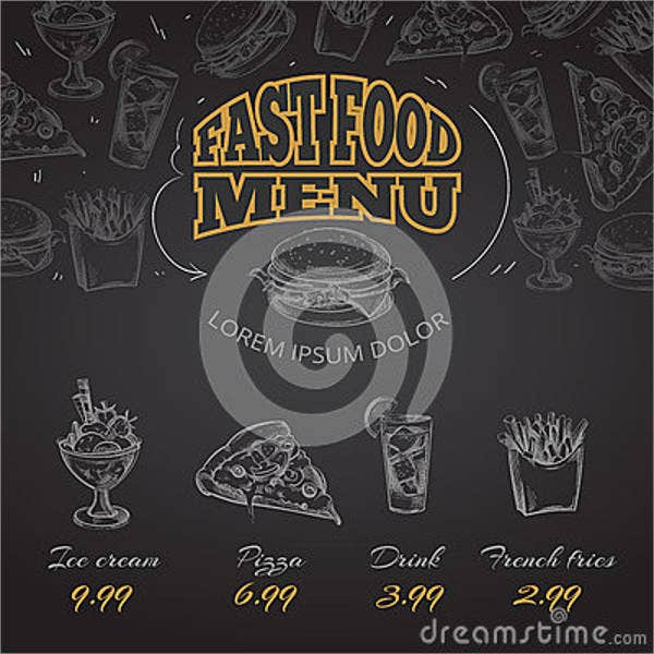 chalkboard-fast-food-menu-design