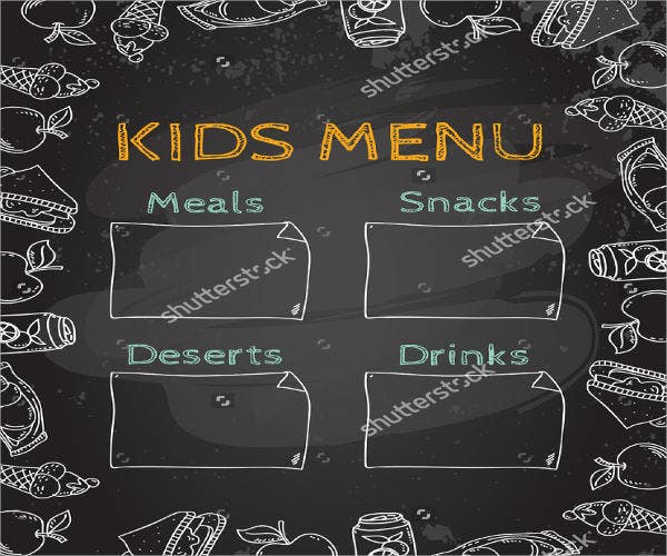 homemade-chalkboard-baby-food-menu