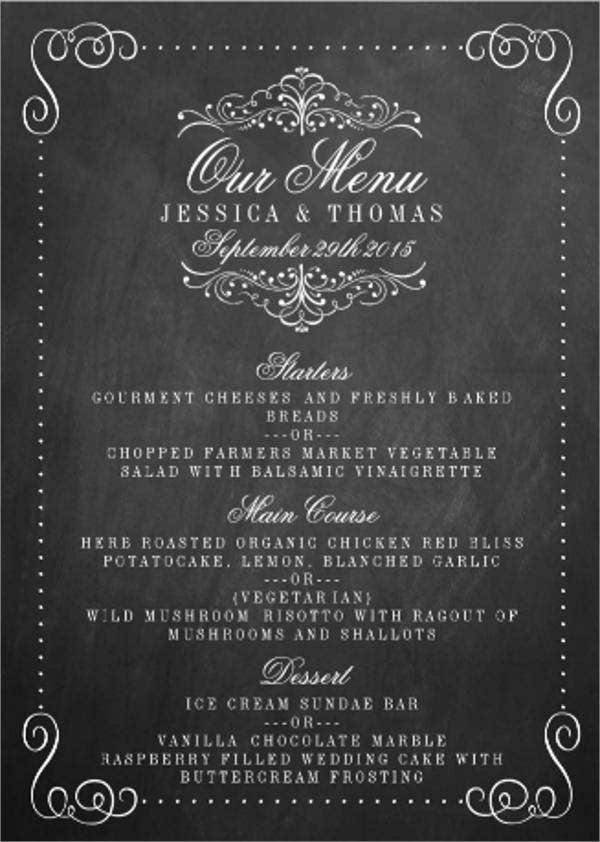 chalkboard-wedding-menu-card