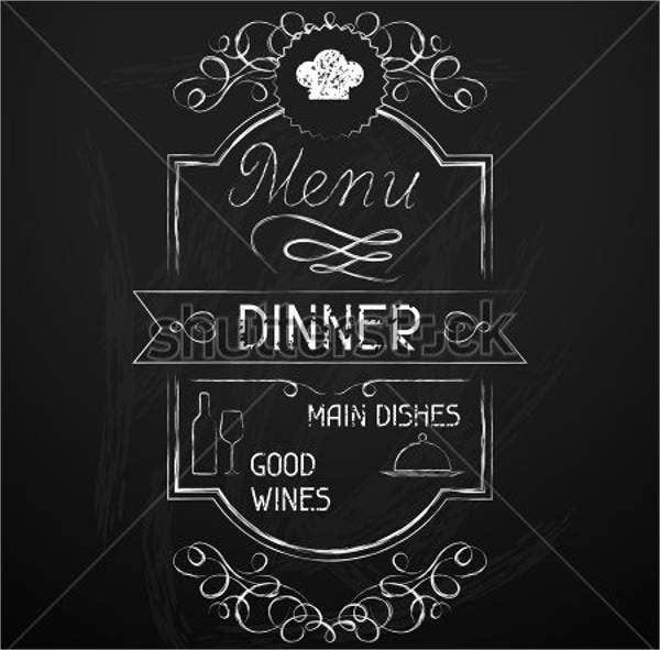 chalkboard-dinner-menu-board
