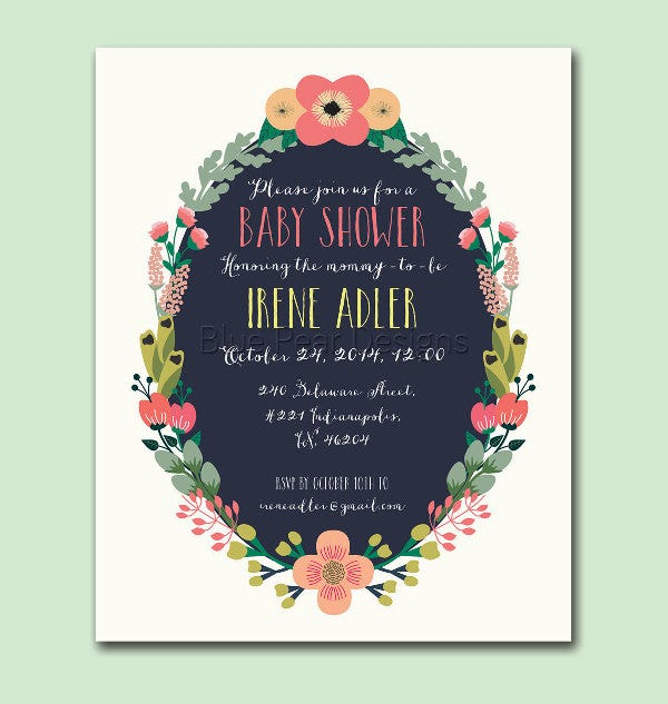 baby shower invitation card1