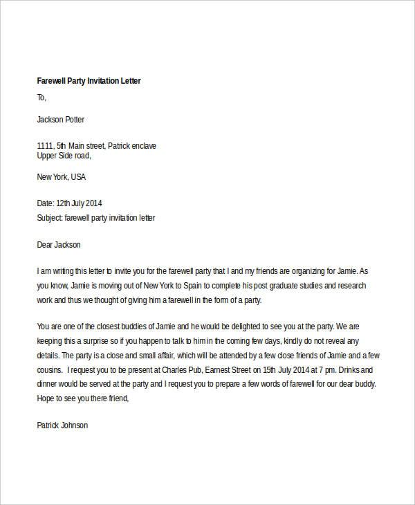 Formal invitation letter format sample best of sample of formal invitation letter for a seminar spiritdancerdesigns Images