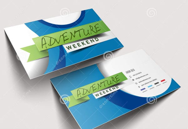 -Travel Agent Business Card