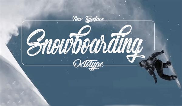 snow-boarding-font