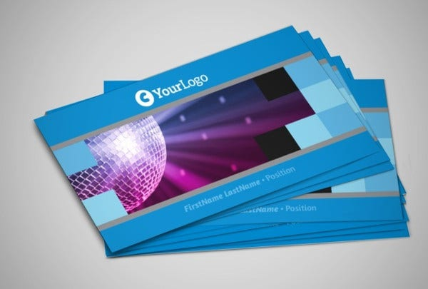 -Party Business Card Template