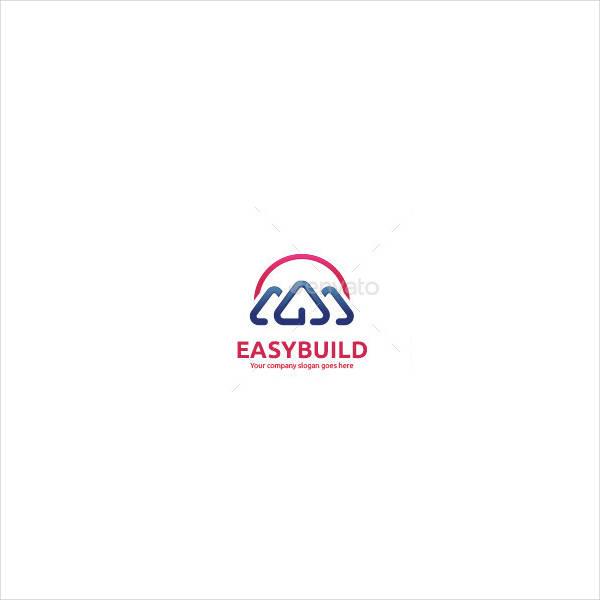 Business Building Plan Logo