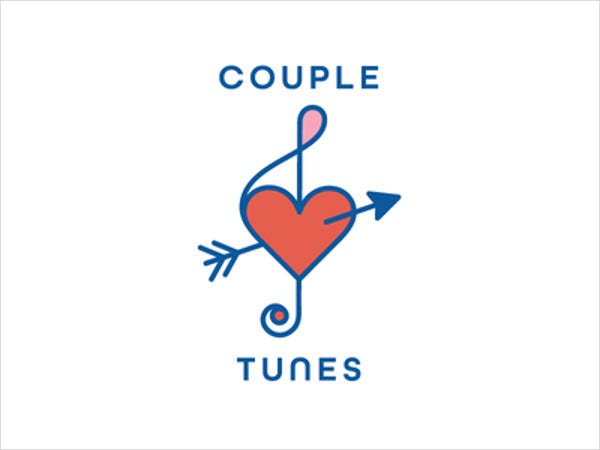 wedding music love logo