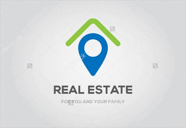 Real Estate Business Family Logo