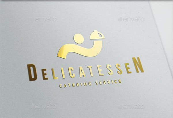 wedding food menu logo