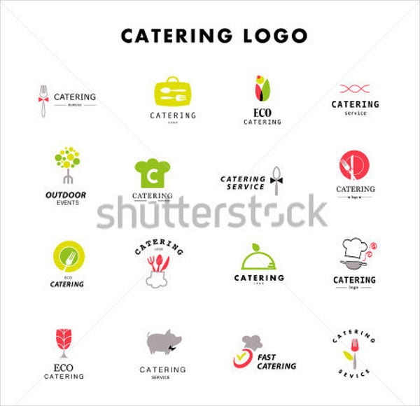 wedding catering menu logo