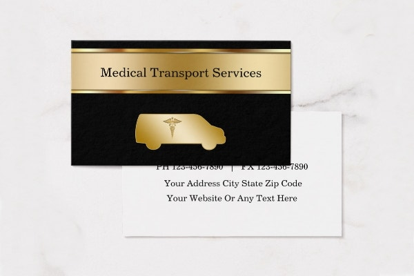 Business cards templates transportation image collections card 10 transportation business cards free premium templates medical transport business card template reheart image collections wajeb Images