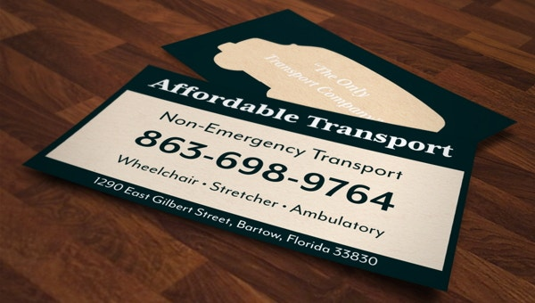 14 Transportation Business Card Templates Psd Ai Publisher