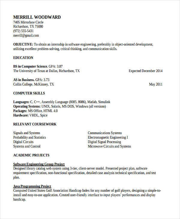 it work experience resume2