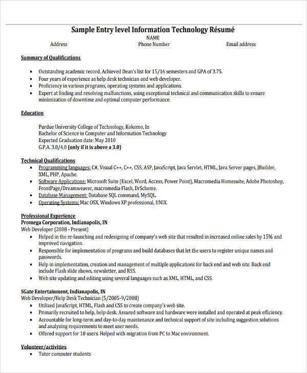 20 simple work resume templates pdf doc free premium templates