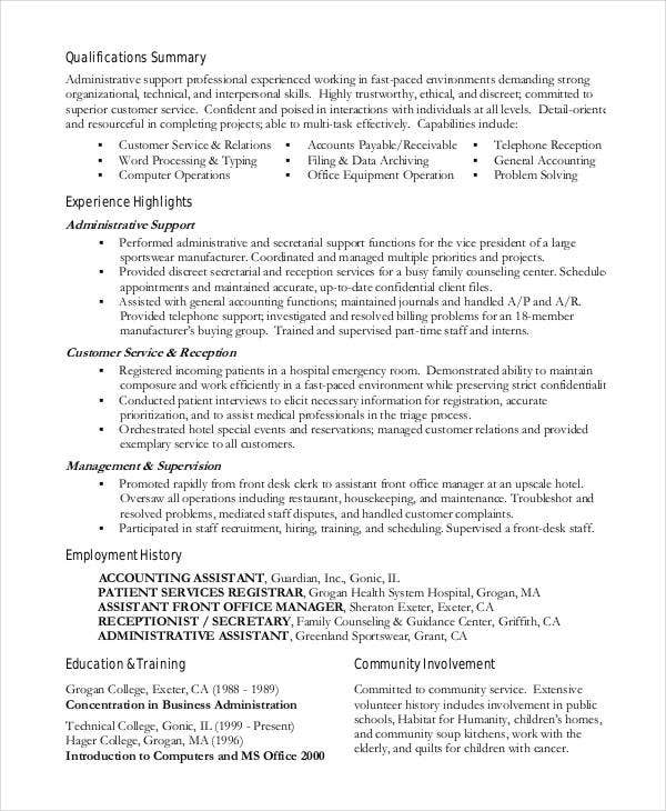 15  best work resume templates