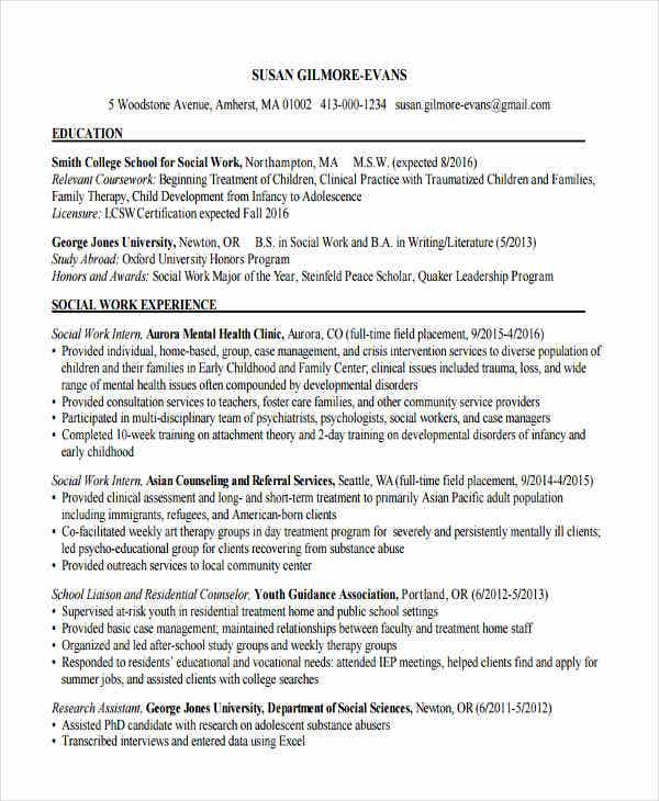 nursing home social work resume2
