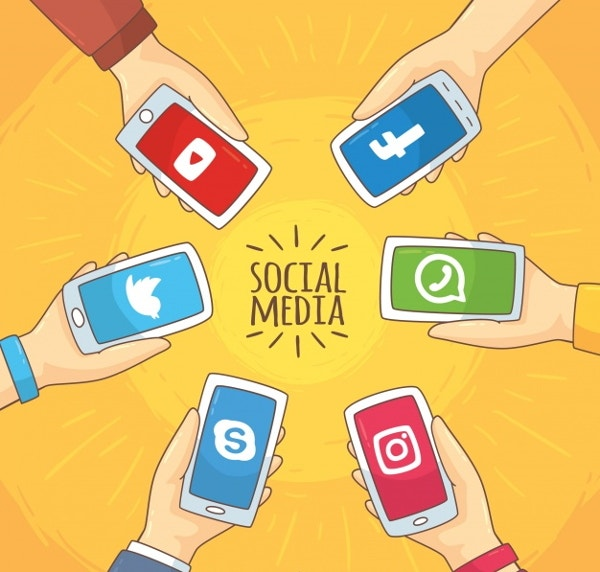 social-network-vector