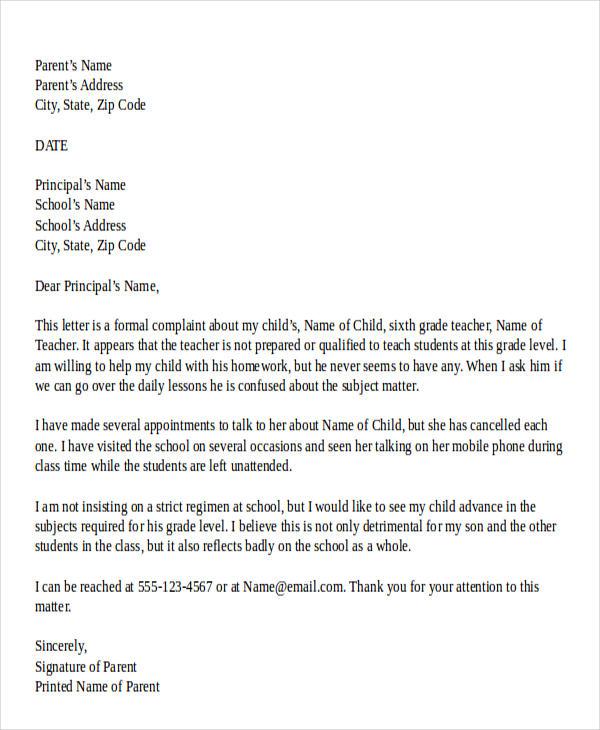 45 Complaint Letter Templates