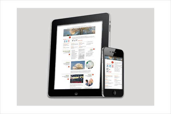 Digital Journal Newspaper Template