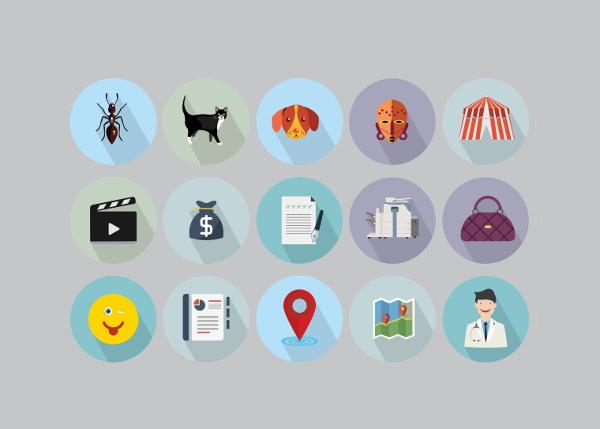 jumbo-flat-icons