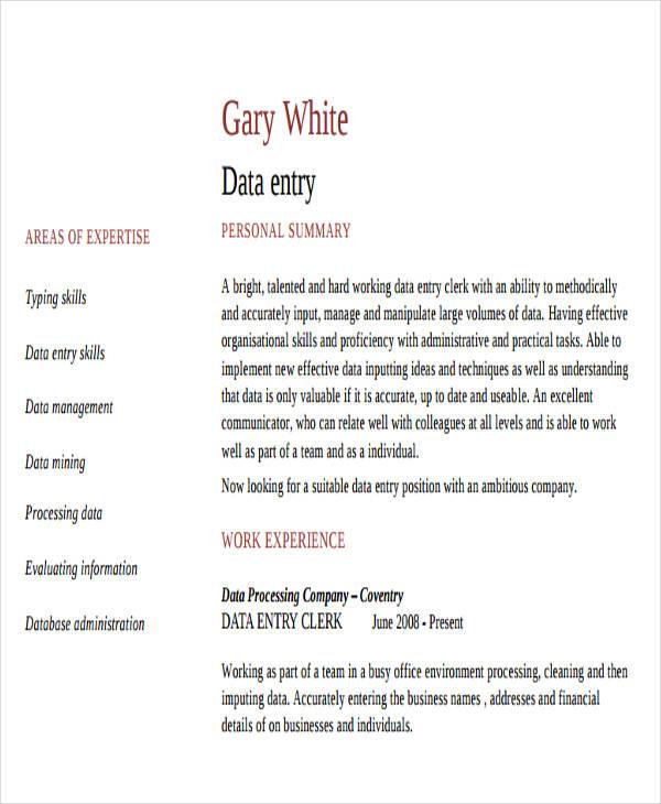 25 printable work resume templates free premium templates