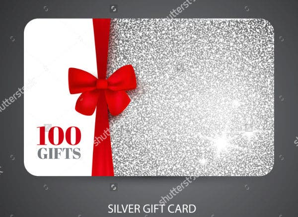 Blank Business Gift Card
