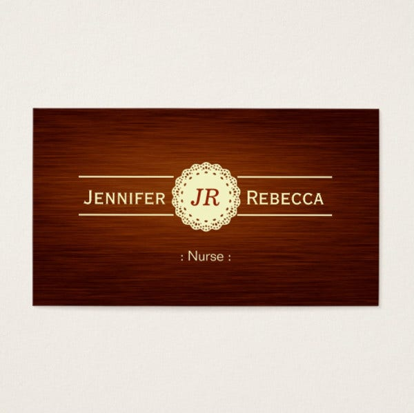 Student Nurse Business Card