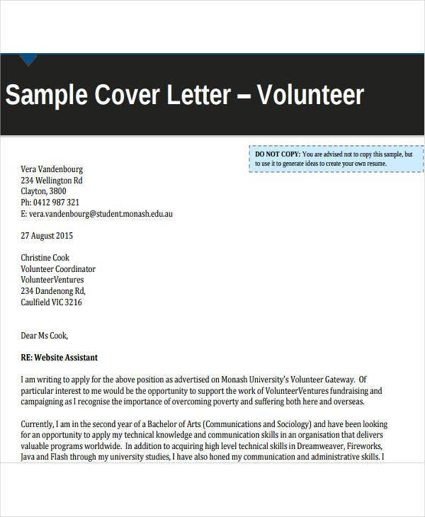 volunteer work resume cover letter4