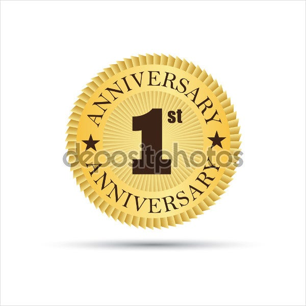 wedding-first-anniversary-logo