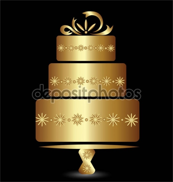 wedding-anniversary-cake-logo
