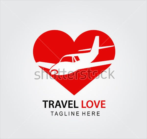 travel agent wedding logo