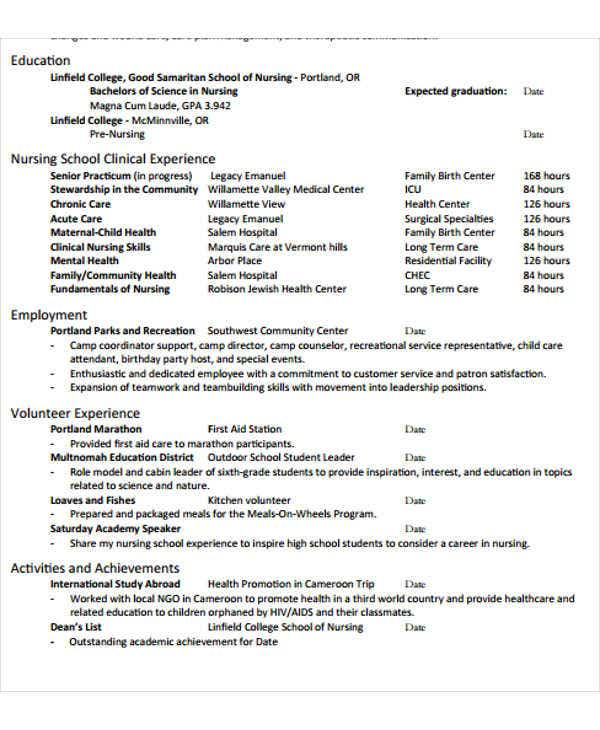 nursing assistant work experience resume3