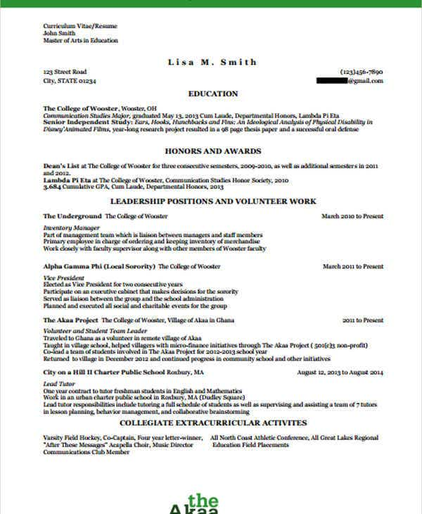26  blank work resume templates
