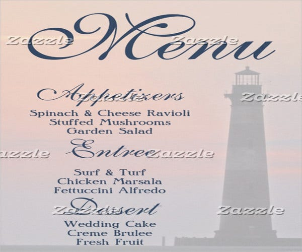 gala catering event menu