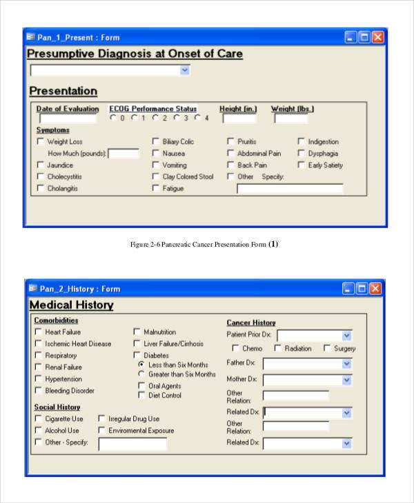 Medical Database Template
