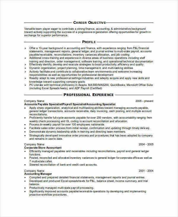financial accountant resume example1