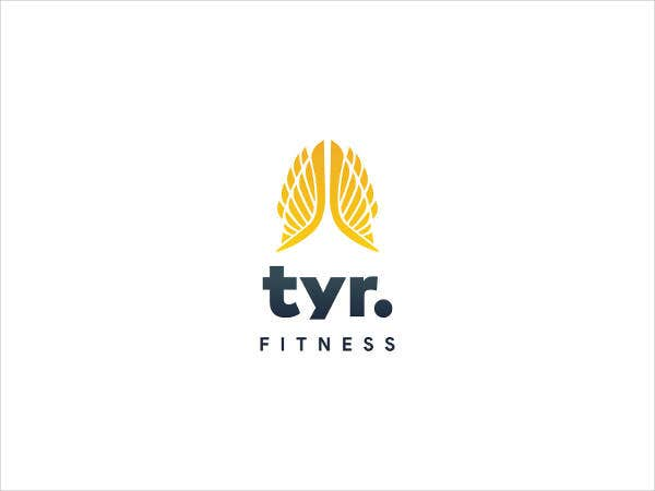 Fitness Daycare Gym Logo