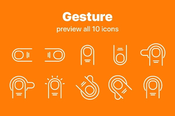gesture-icons