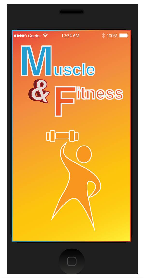 fitness app gym logo
