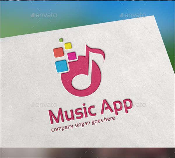 music-app-dj-logo