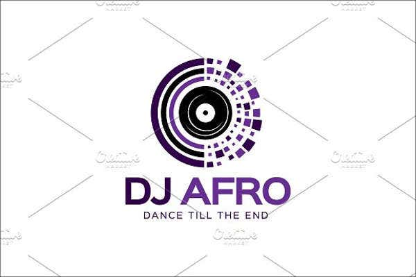 music-dance-dj-logo