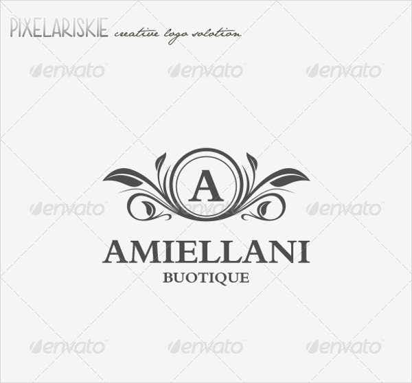 flower boutique logo design