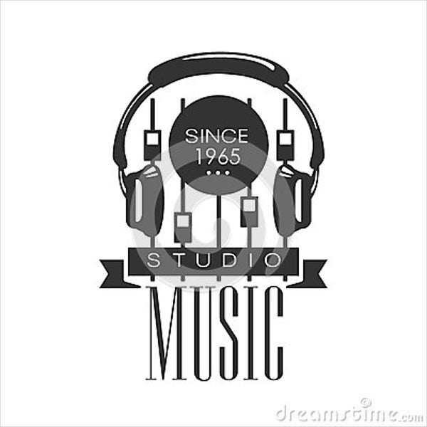 music-recording-studio-logo