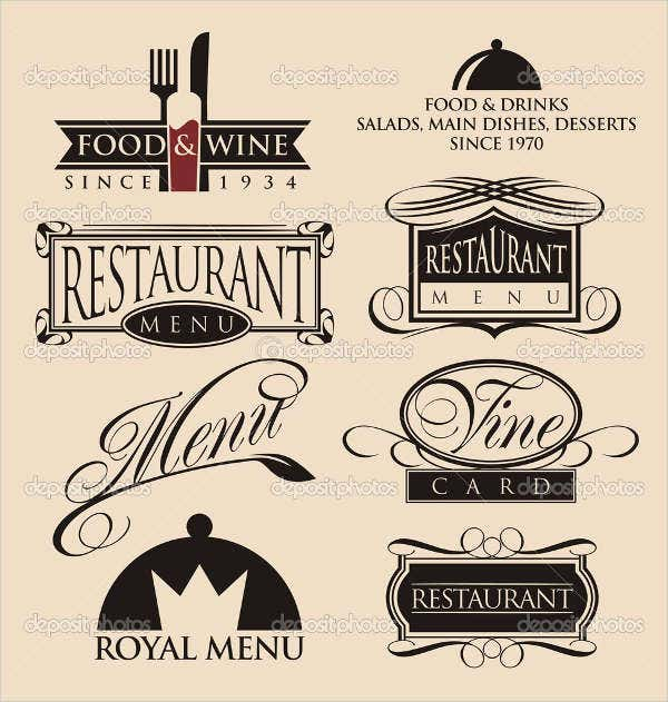 restaurant bar logo