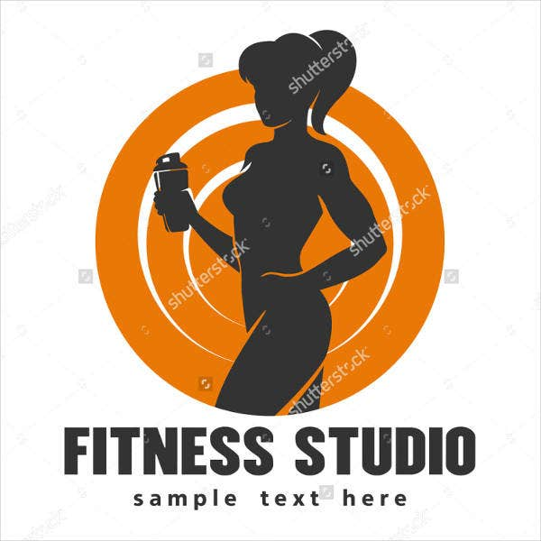 fitness drink product logo