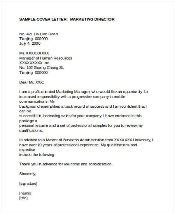 marketing manager application letter3