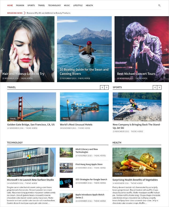 wordpress magazine theme1