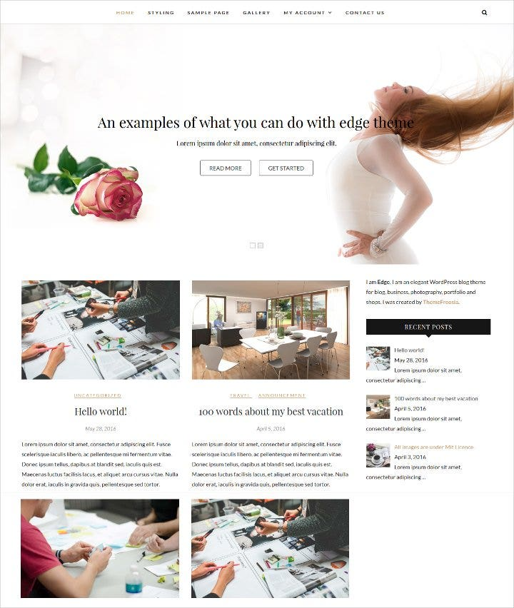 responsive blog wordpress theme1