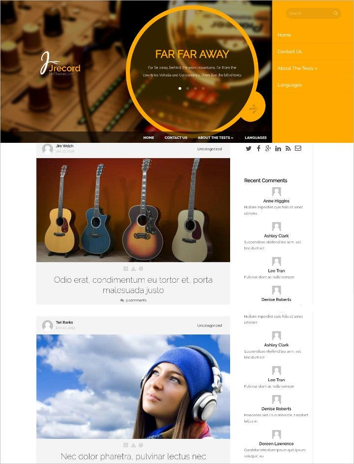 music magazine wordpress theme11
