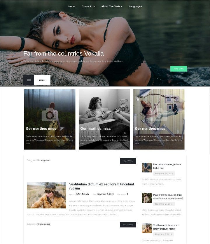 latest fashion wordpress theme11